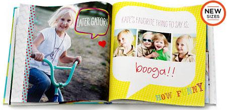 shutterfly photo book kids