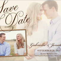 save the date shutterfly photo overlay