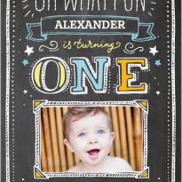 1st birthday invites shutterfly for boy