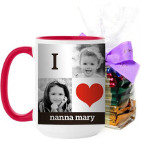 i love you custom coffee mug