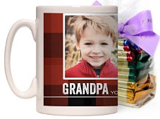 color photo coffee mug