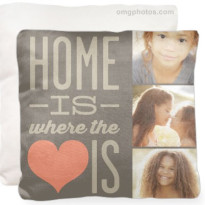 personalized photo pillow from shutterfly