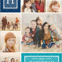 photo hanukkah cards from shutterfly