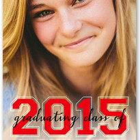 shutterfly graduation announcements with numbers