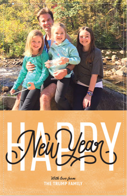 vistaprint new years holiday cards