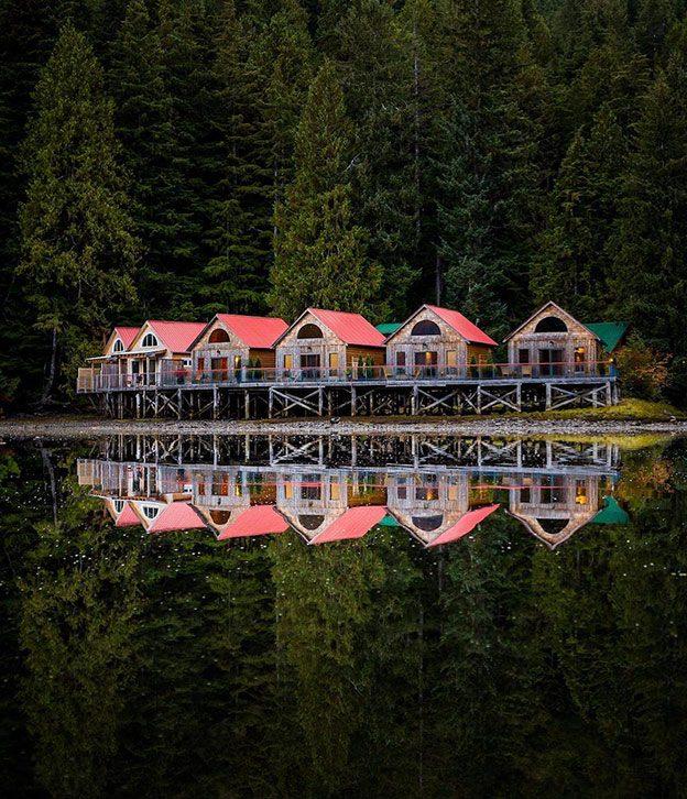 nimmo bay canada cabins