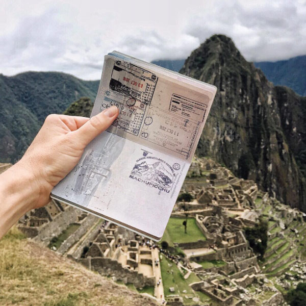 passport instagram photo machupicchu