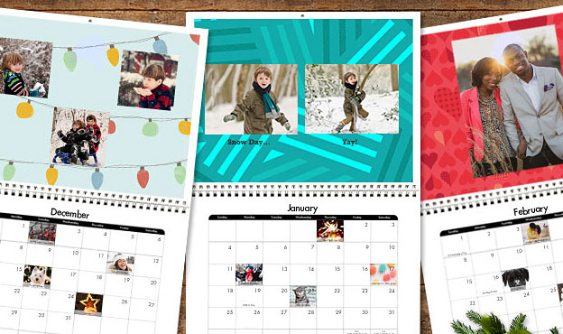snapfish calendar samples