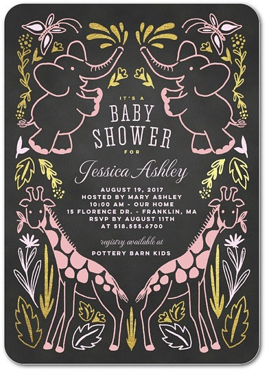tiny prints baby shower invitation omg photos