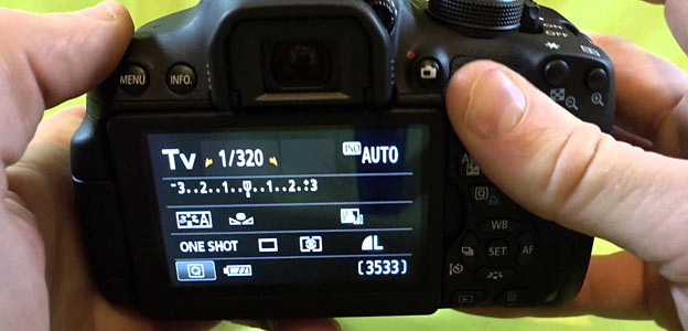 adjust aperature camera