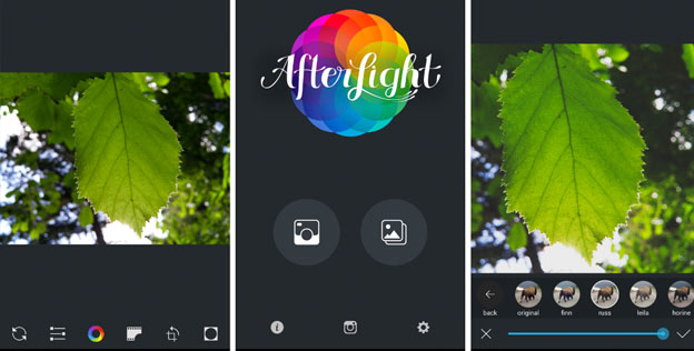 afterlight iphone photo app