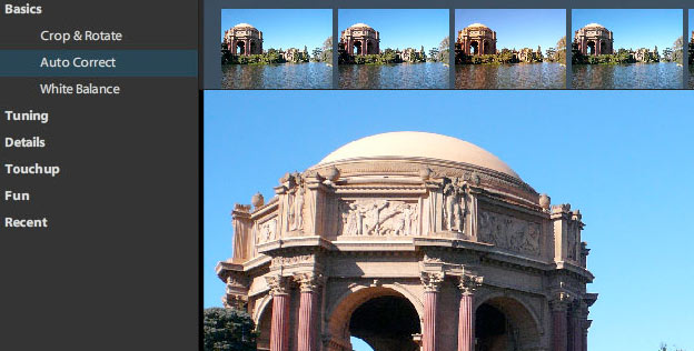 photoshop express iphone filter