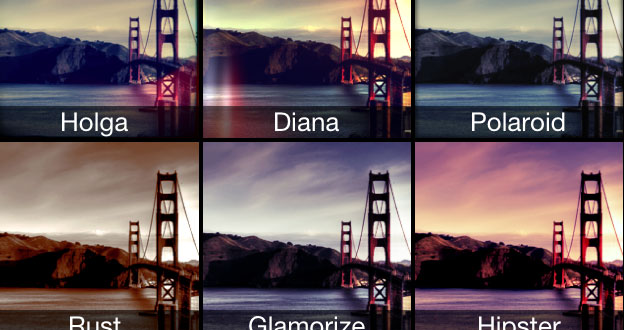 smartphone photo filters