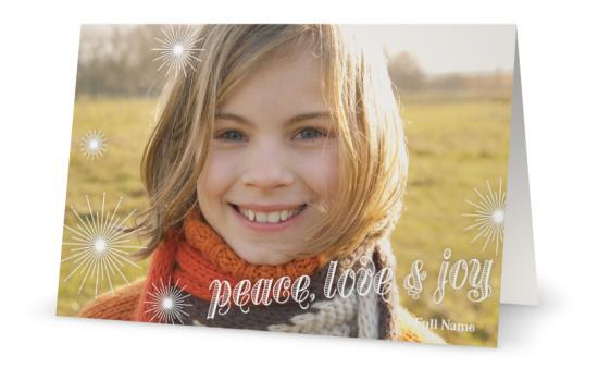 holiday cards photo vistaprint - Vistaprint Holiday Cards