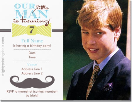 Inexpensive Personalized Birthday Party Invitations At Vistaprint With Or Without A Photo