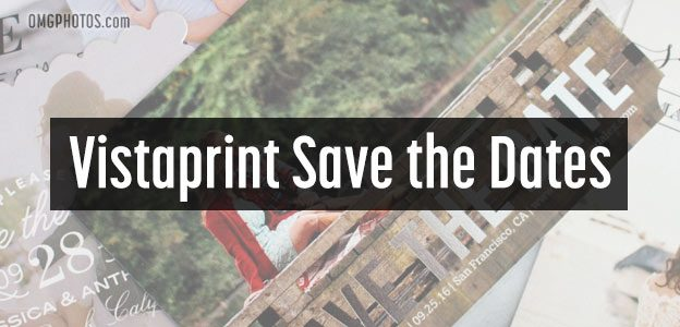 vistaprint save dates